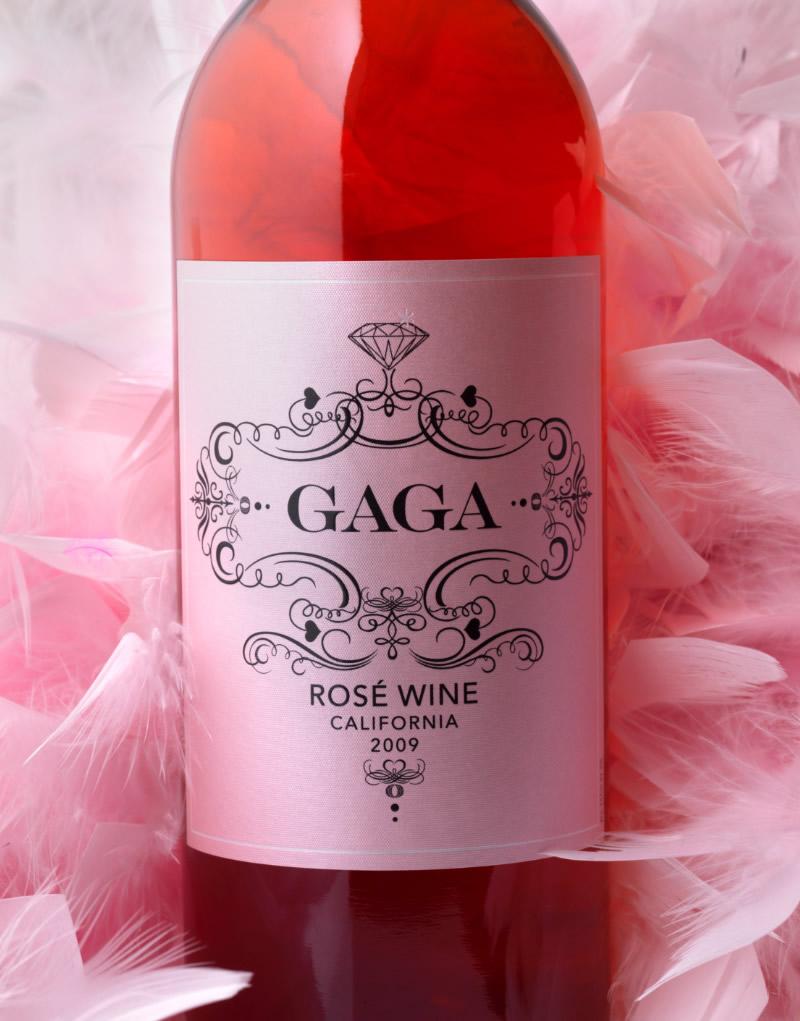 GaGa Wine Packaging Design & Logo