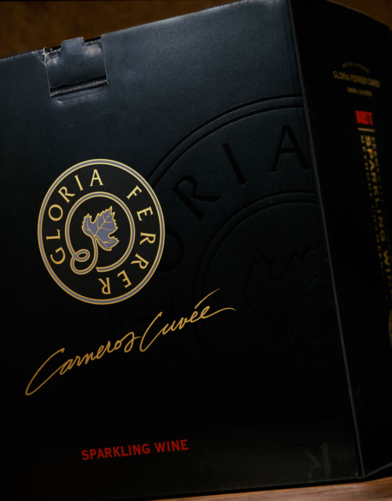 Gloria Ferrer Carneros Cuvée Shipper Design