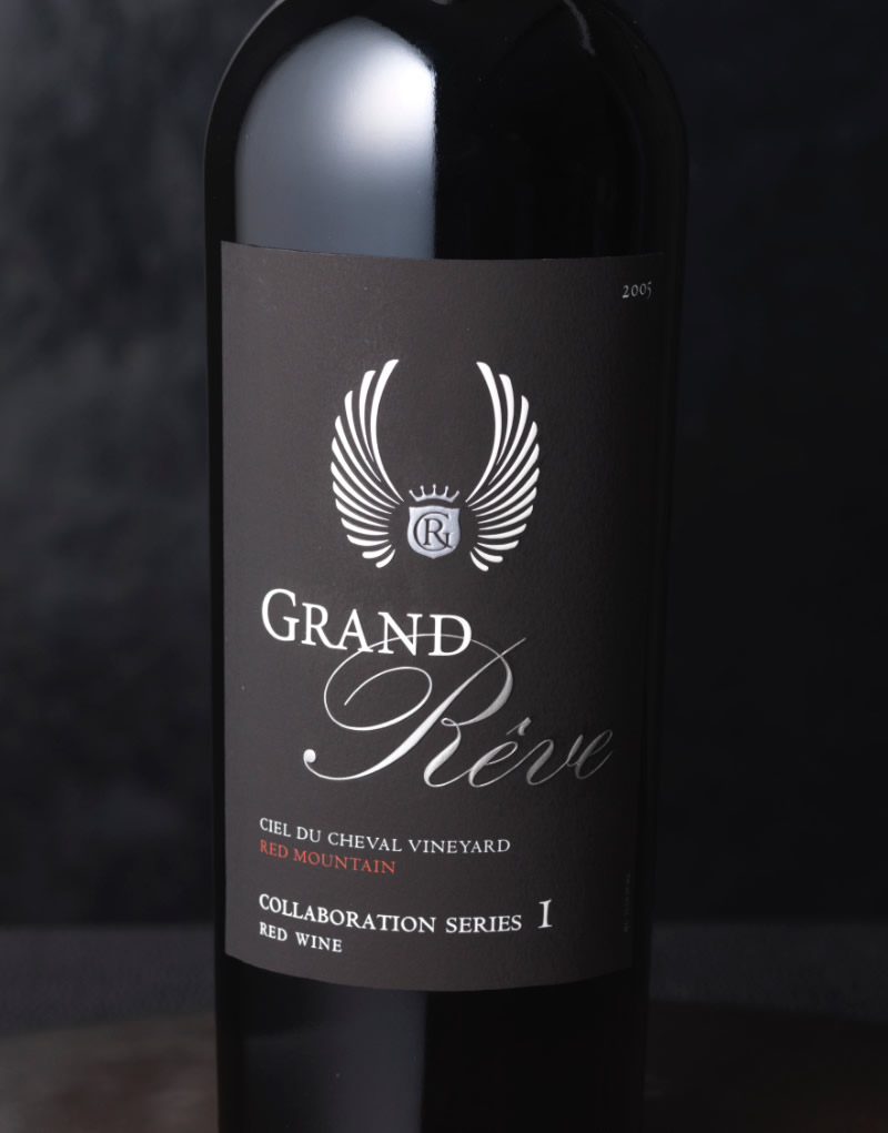 Grand Rêve Vintners Wine Packaging Design & Logo