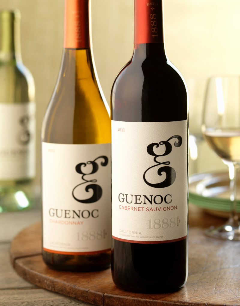 Guenoc Wine Packaging Design & Logo