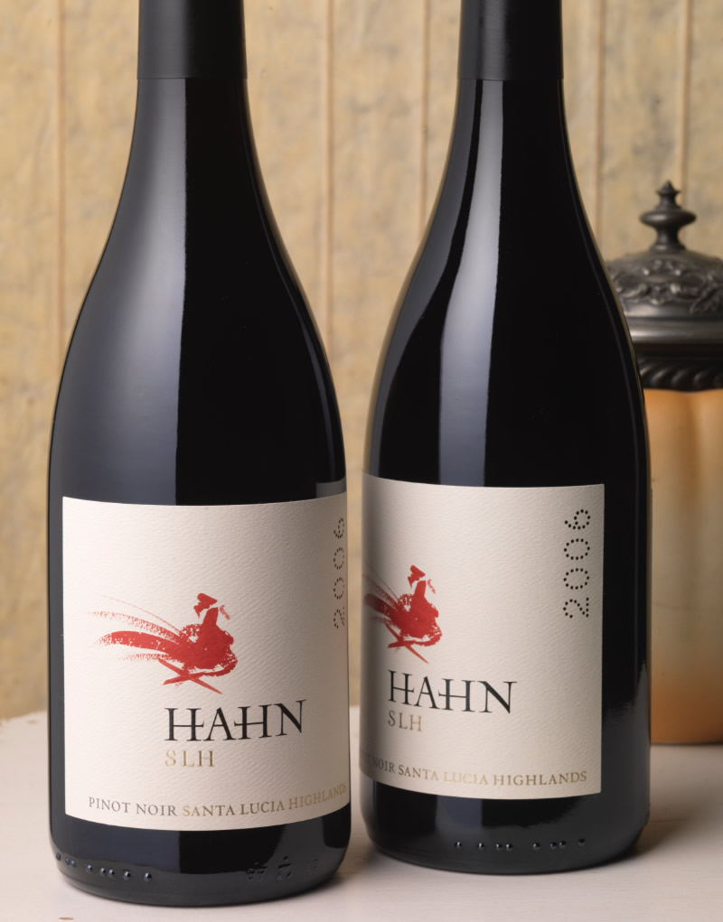 Hahn Family Wines Packaging Design & Logo SLH Wines