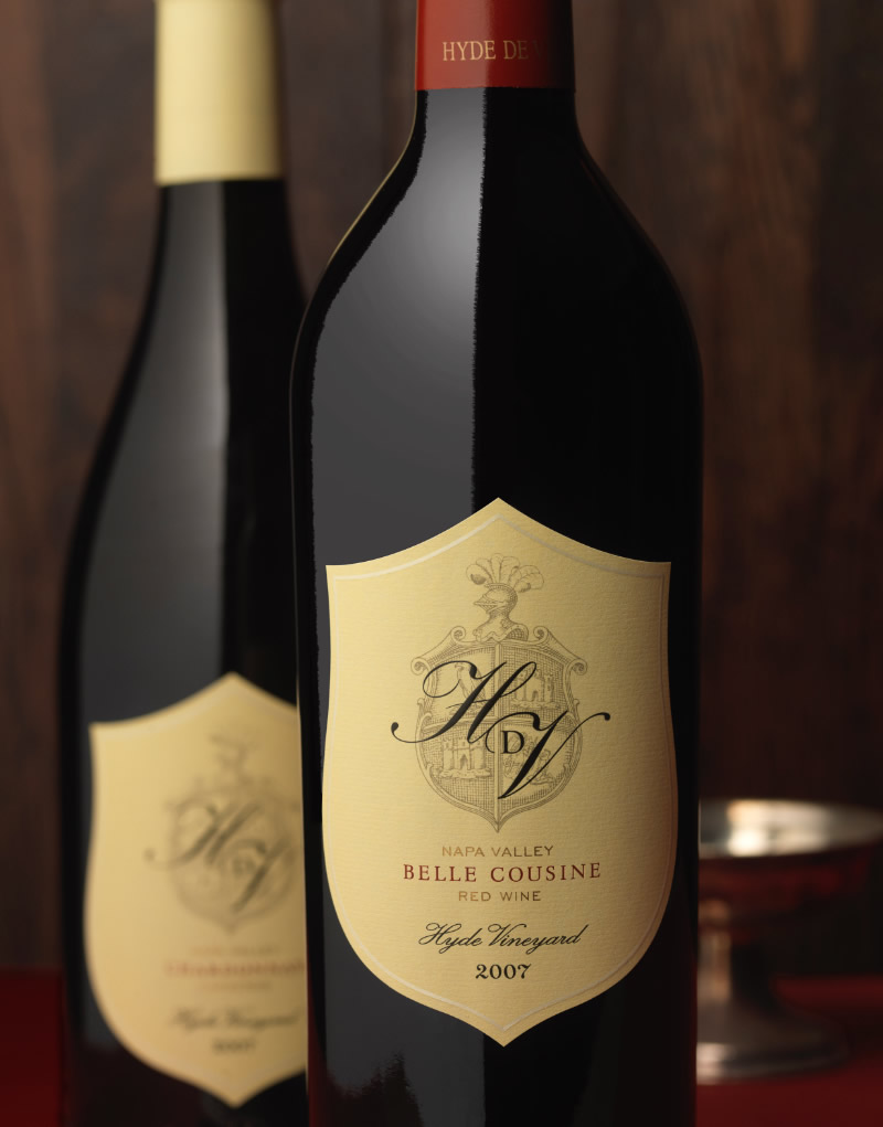 HdV Wine Packaging Design & Logo