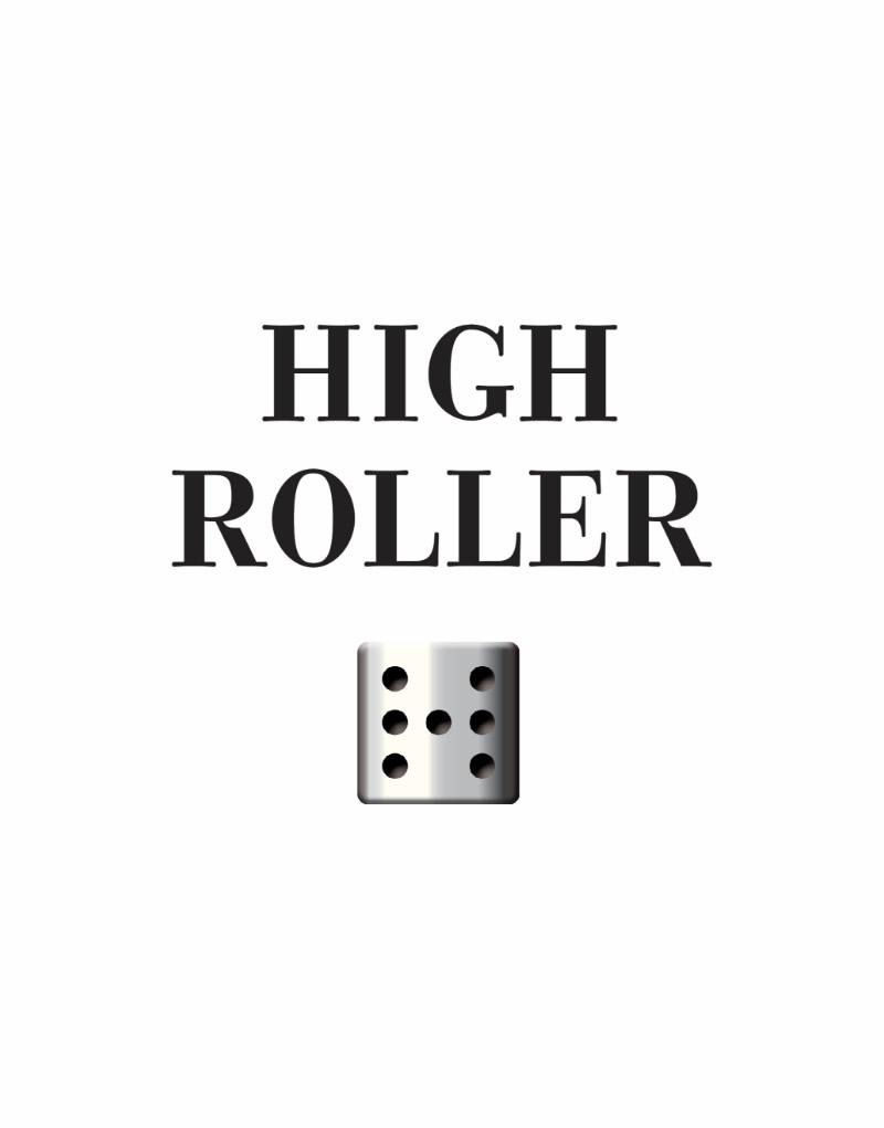 High Roller Logo Design