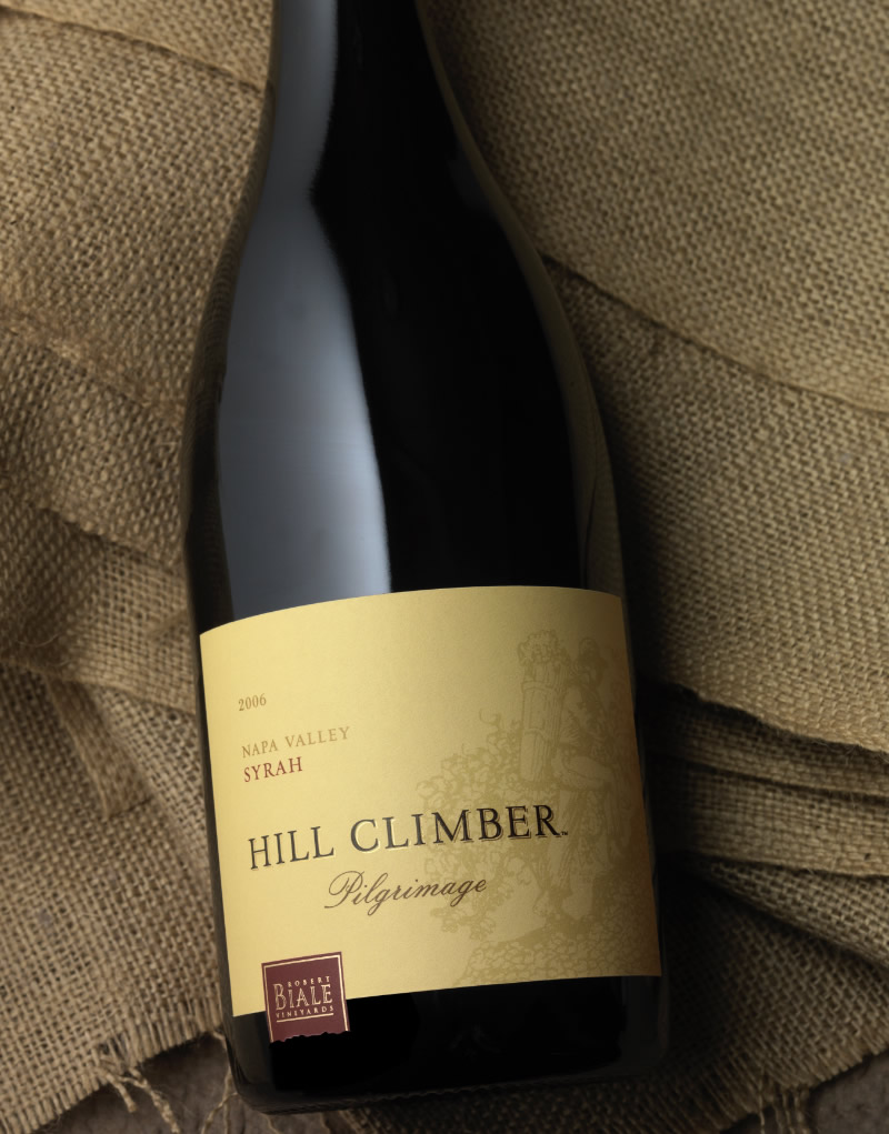 Hill Climber Wine Packaging Design & Logo