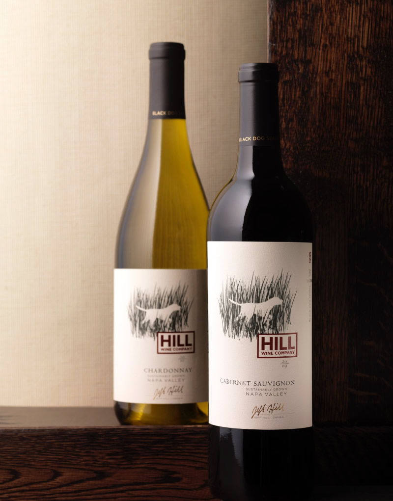 Hill Wine Company Packaging Design & Logo