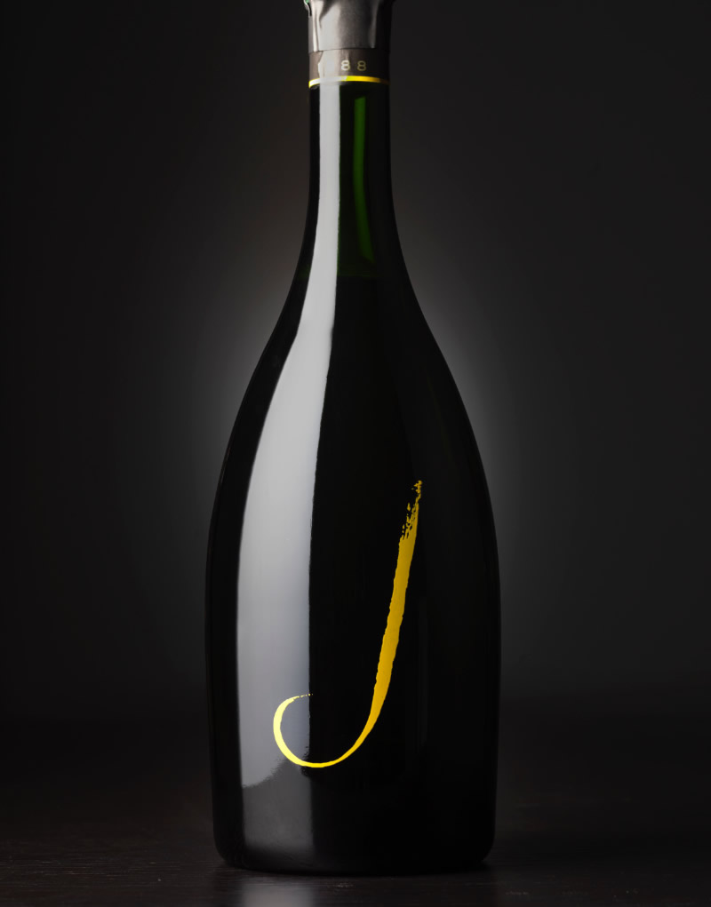 J Vineyards & Winery Packaging Design & Logo Sparkling Wine