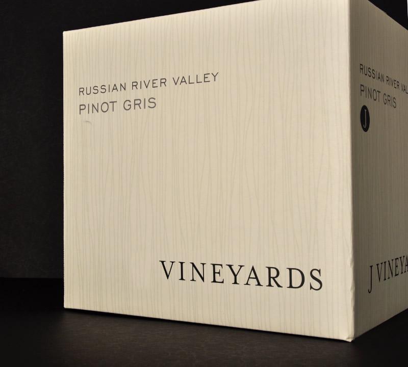 J Vineyards & Winery Shipper Design