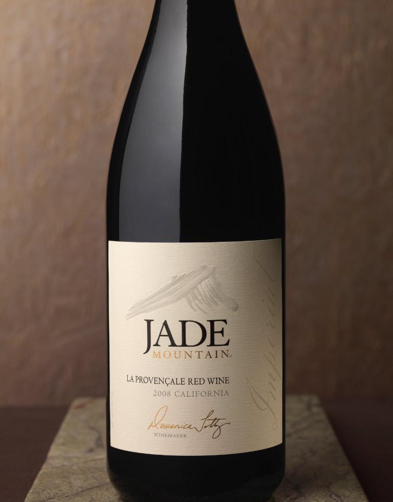 Jade Mountain Wine Packaging Design & Logo Imperial Wine
