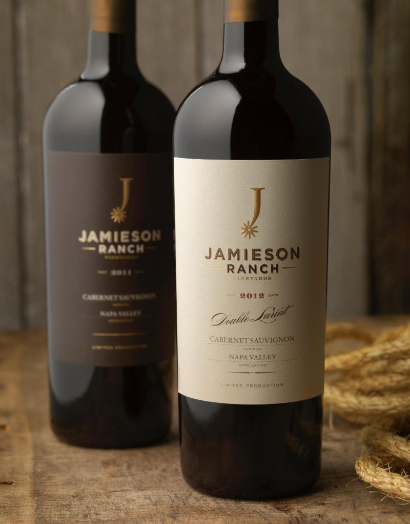 Jamieson Ranch Wine Packaging Design & Logo