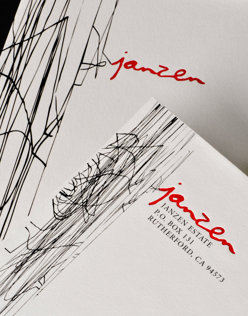 Janzen Stationery Design