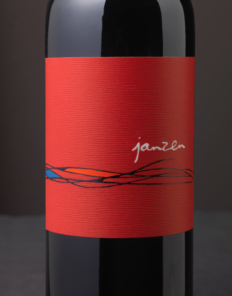 Janzen Wine Packaging Design & Logo