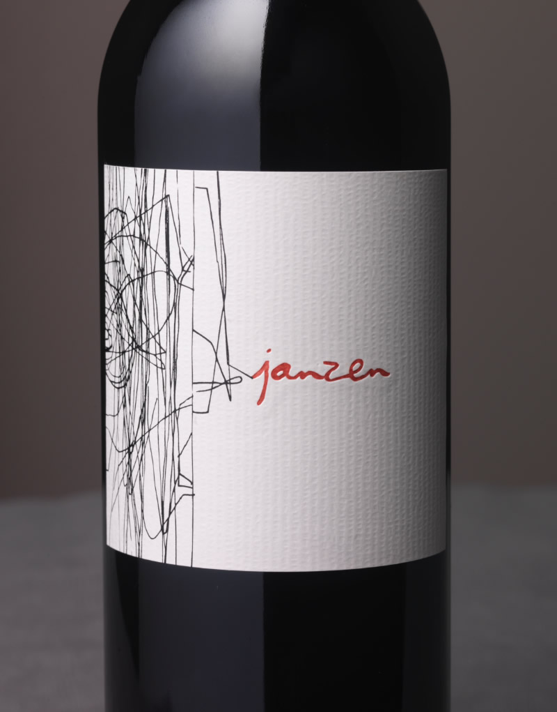 Janzen Wine Packaging Design & Logo Kalon Vineyard