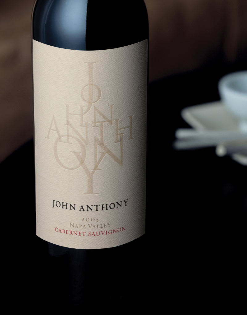 John Anthony Wine Packaging Design & Logo