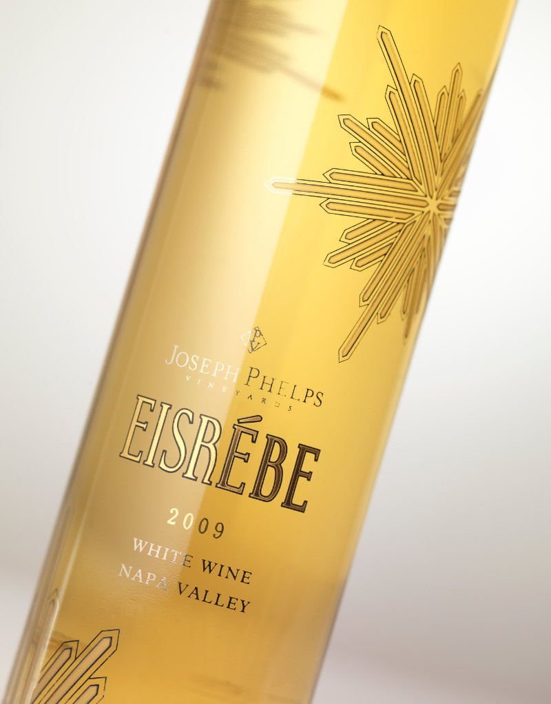 Joseph Phelps Eisrebe Wine Packaging Design & Logo