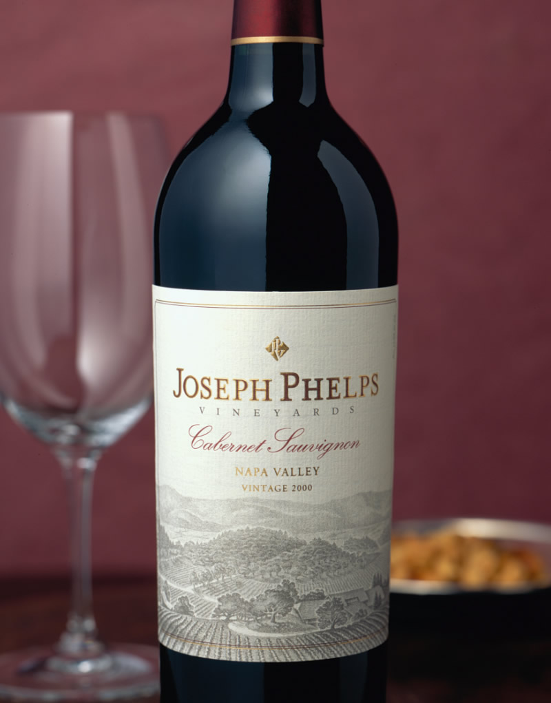 Joseph Phelps Wine Packaging Design & Logo