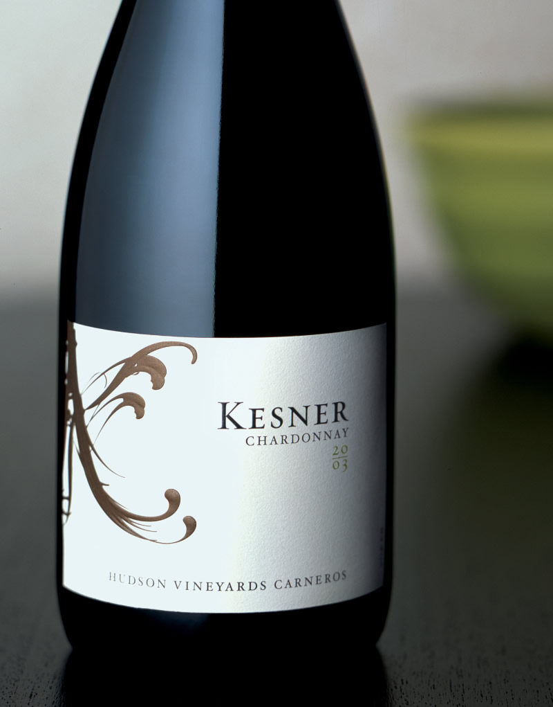 Kesner Wine Packaging Design & Logo