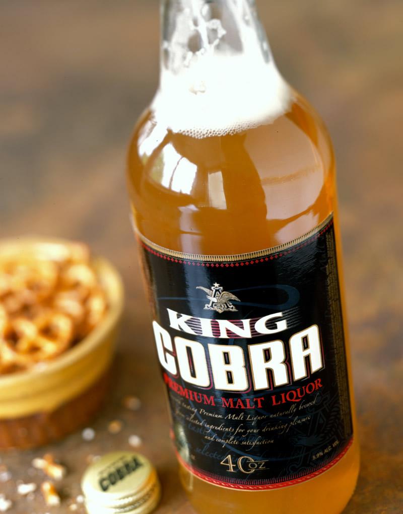 King Cobra Packaging Design & Logo