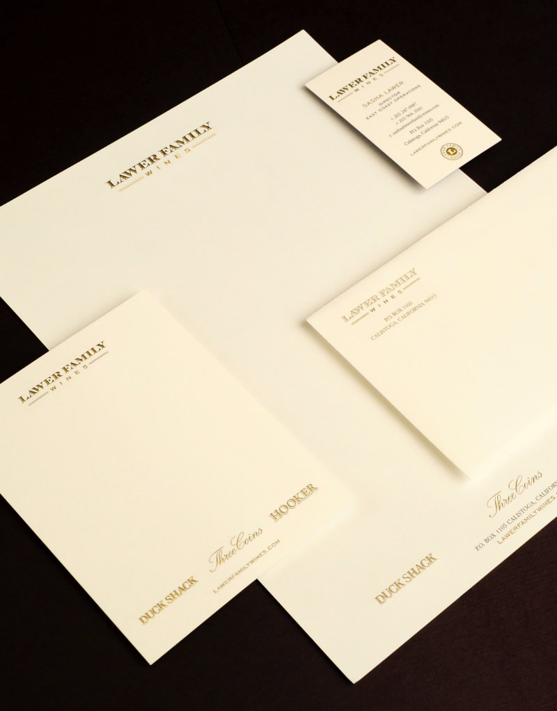 Lawer Estates Stationery