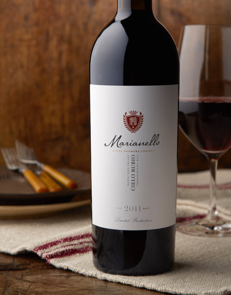 Marianello Wine Packaging Design & Logo