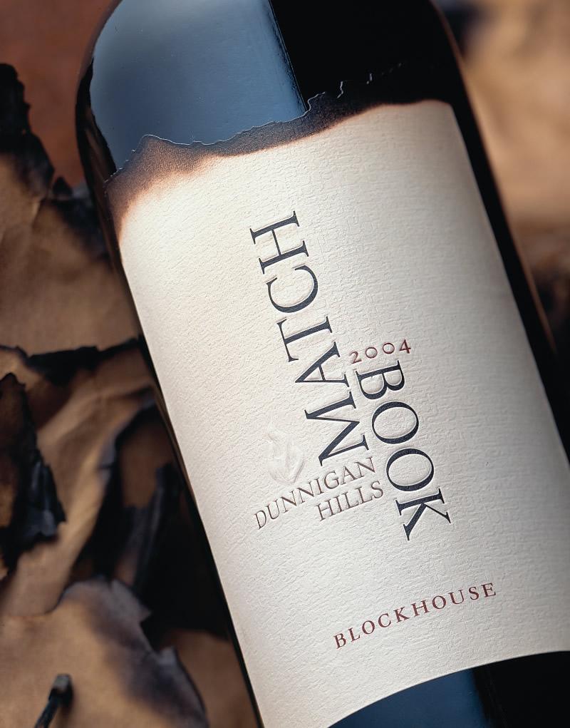 Matchbook Wine Packaging Design & Logo
