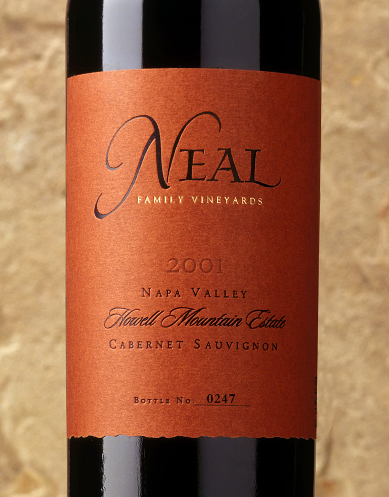 Neal Family Wine Packaging Design & Logo