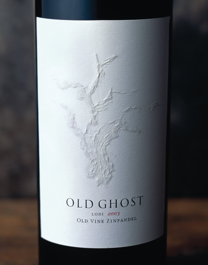 Old Ghost Wine Packaging Design & Logo