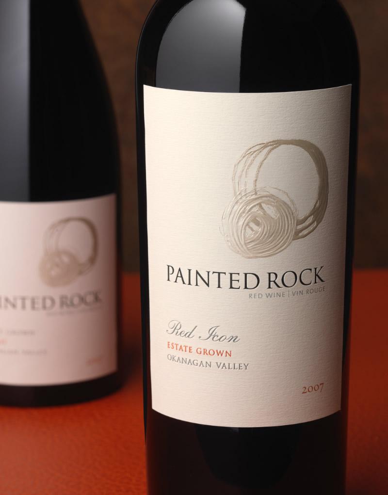 Painted Rock Wine Packaging Design & Logo