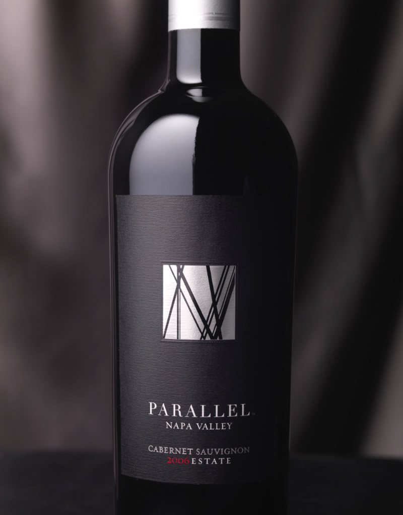 Parallel Napa Valley Wine Packaging Design & Logo Estate