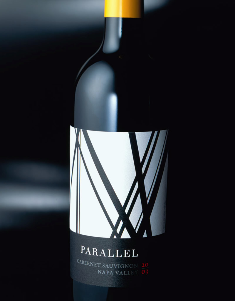 Parallel Napa Valley Wine Packaging Design & Logo