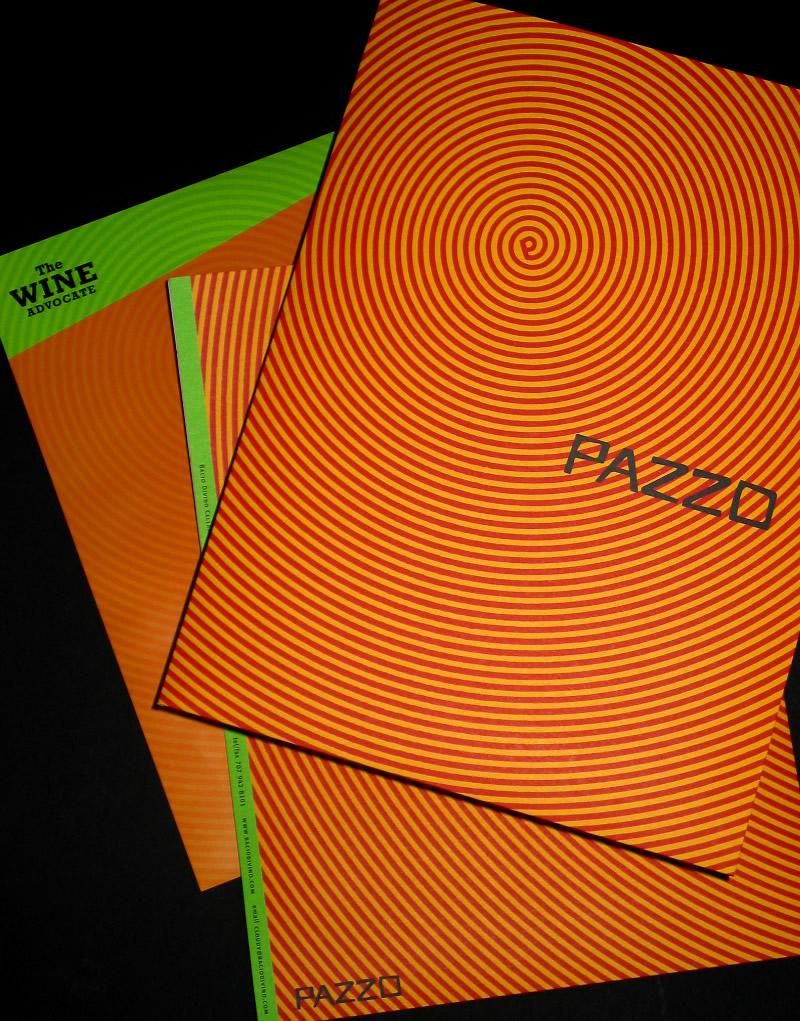 Pazzo Brochure Design