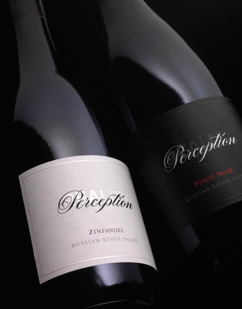 Perception Wine Packaging Design & Logo
