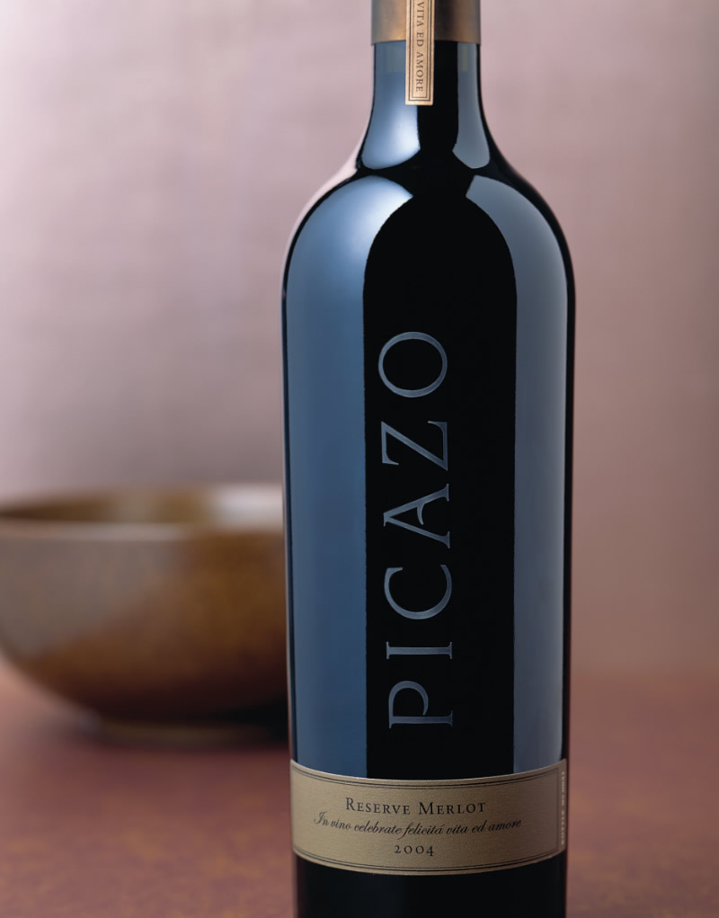 Picazo Wine Packaging Design & Logo