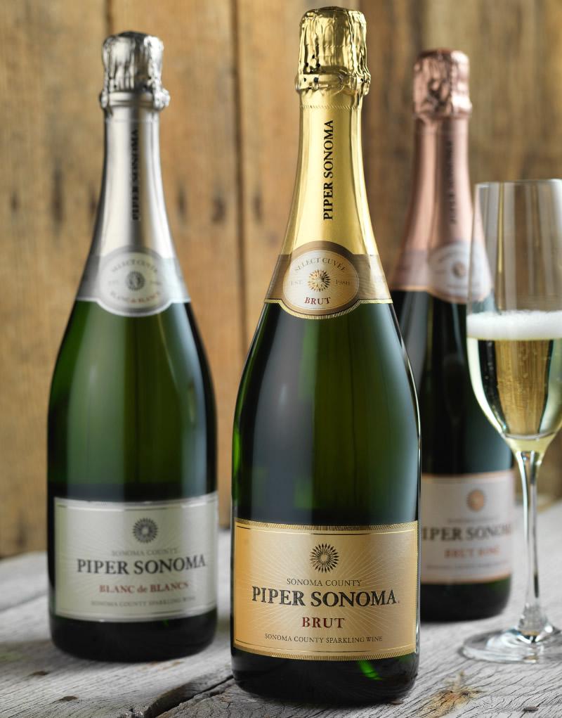 Piper Sonoma Wine Packaging Design & Logo
