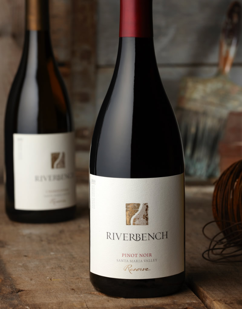 Riverbench Wine Packaging Design & Logo Pinot Noir