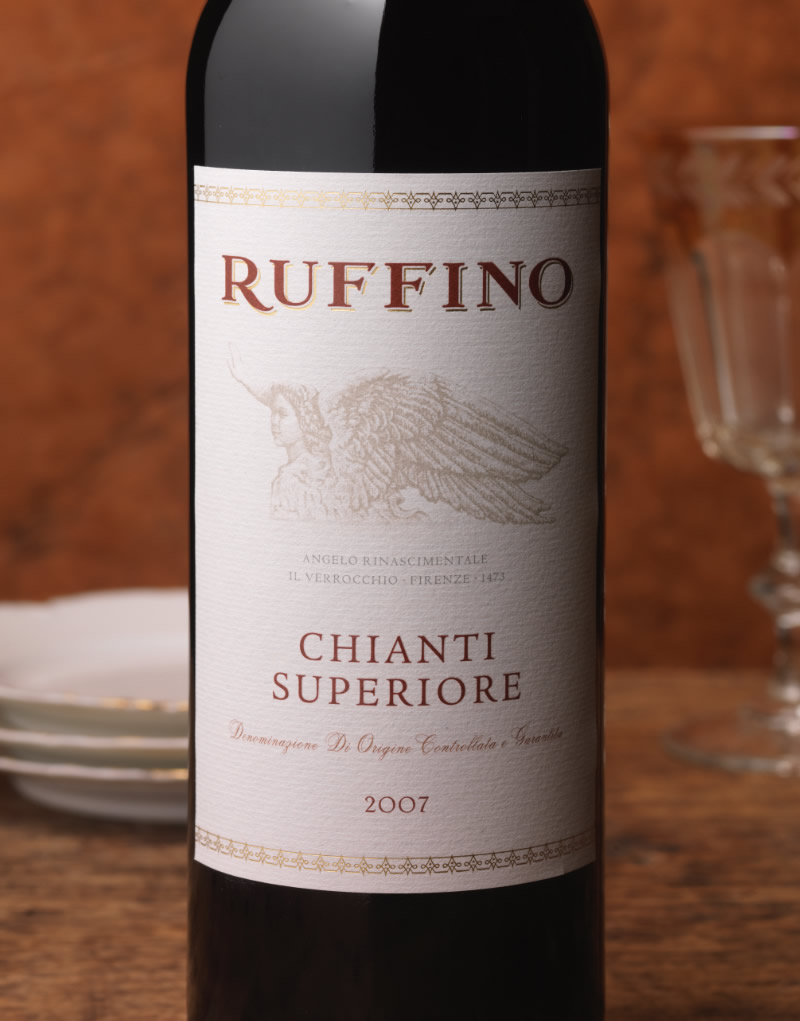 Ruffino Wine Packaging Design & Logo