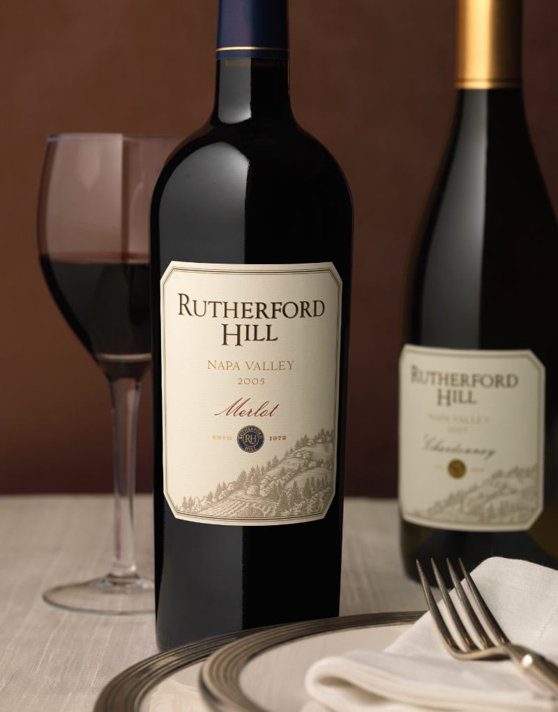 Rutherford Hill Wine Packaging Design & Logo