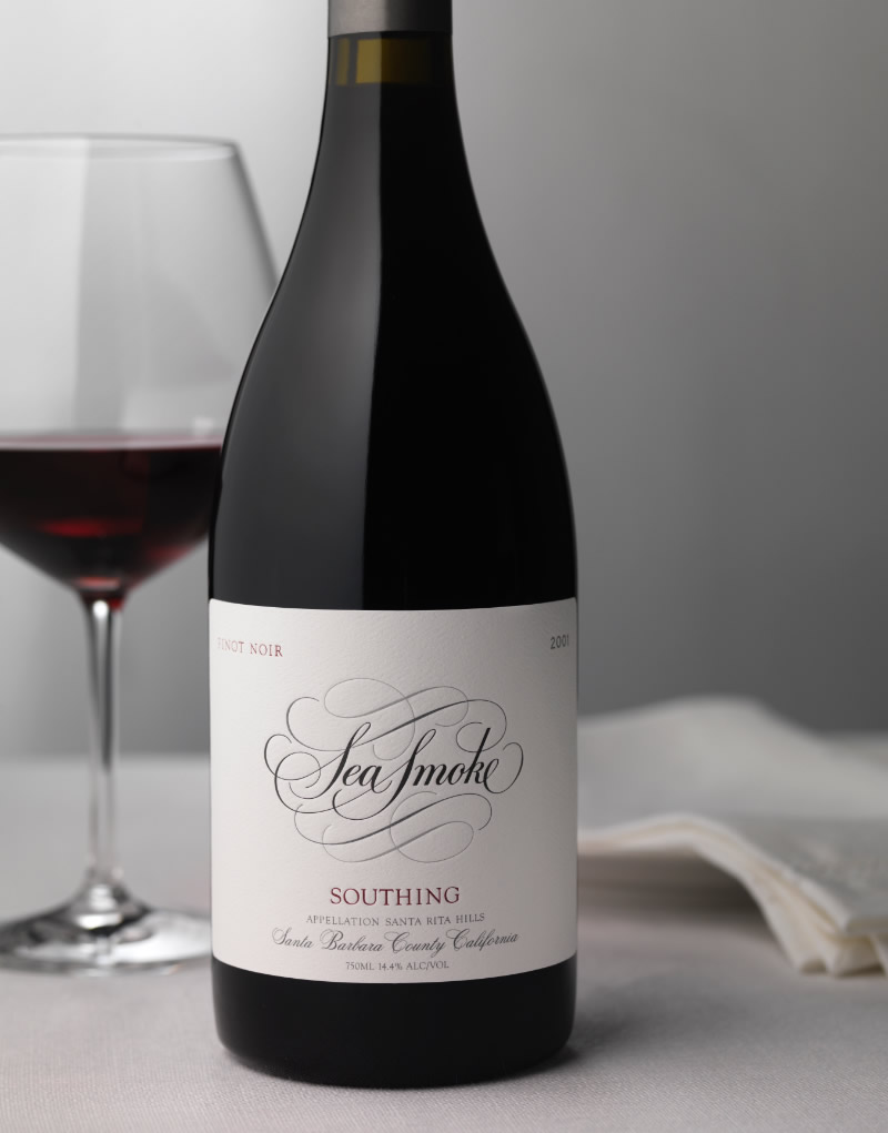 Sea Smoke Wine Packaging Design & Logo