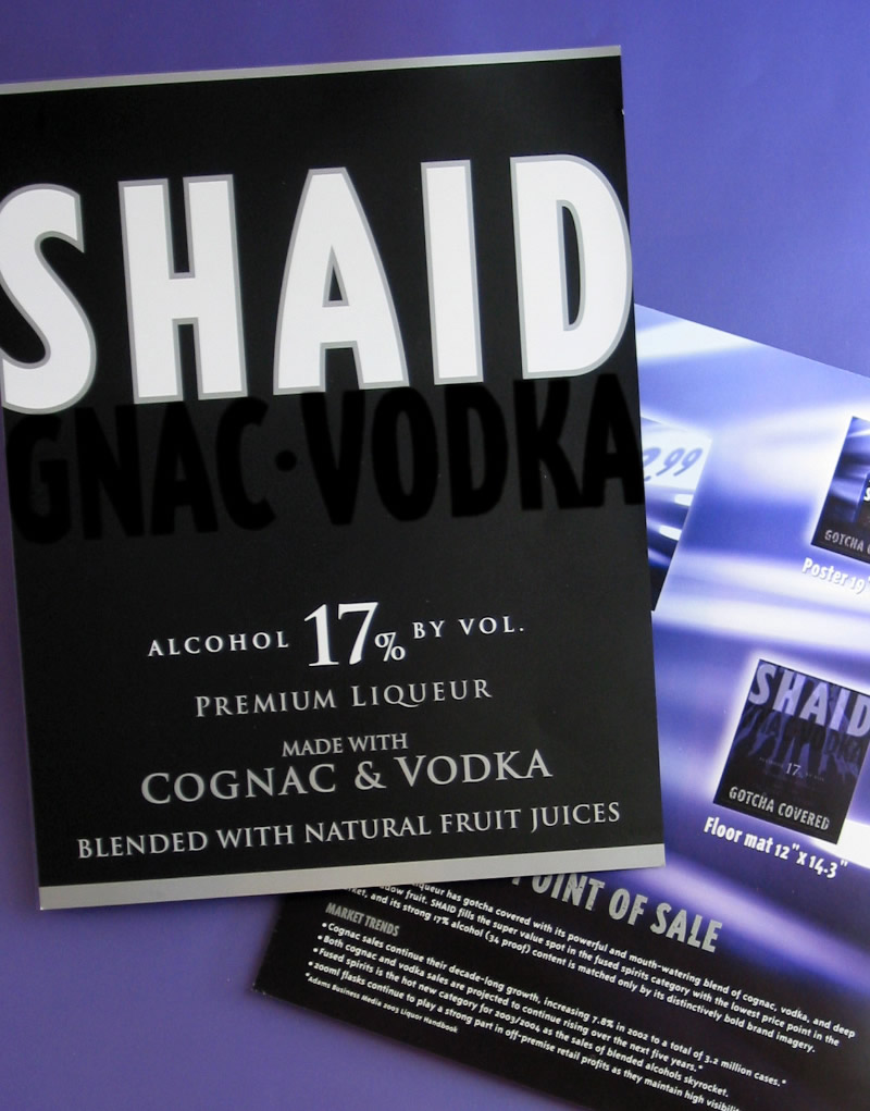 Shaid Spirits Point-of-Sale Design