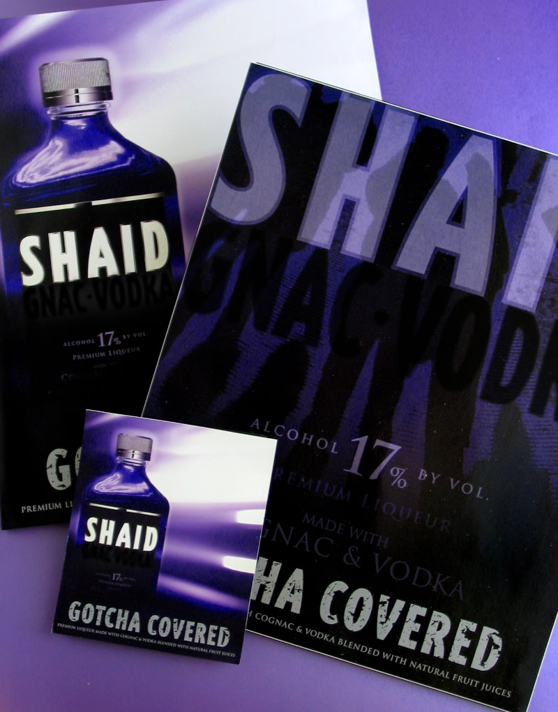 Shaid Spirits Sale Sheet Design