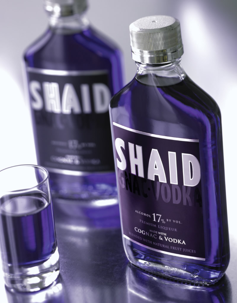 Shaid Spirits Packaging Design & Logo