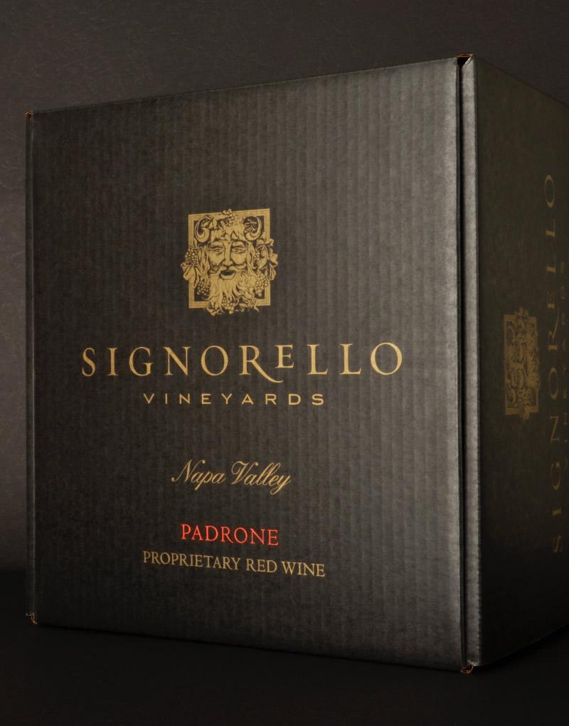 Signorello Estate Padrone Shipper Design