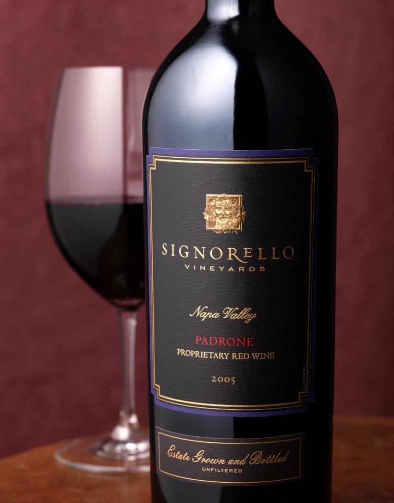 Signorello Estate Wine Packaging Design & Logo Padrone Wine