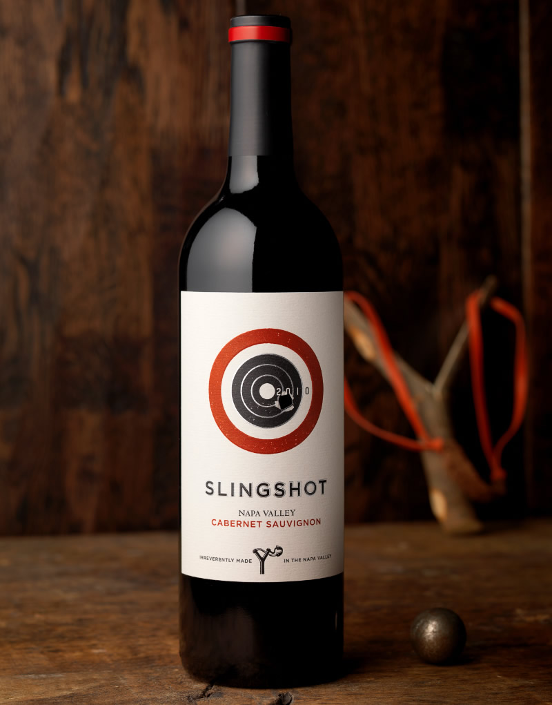 Slingshot Wine Packaging Design & Logo
