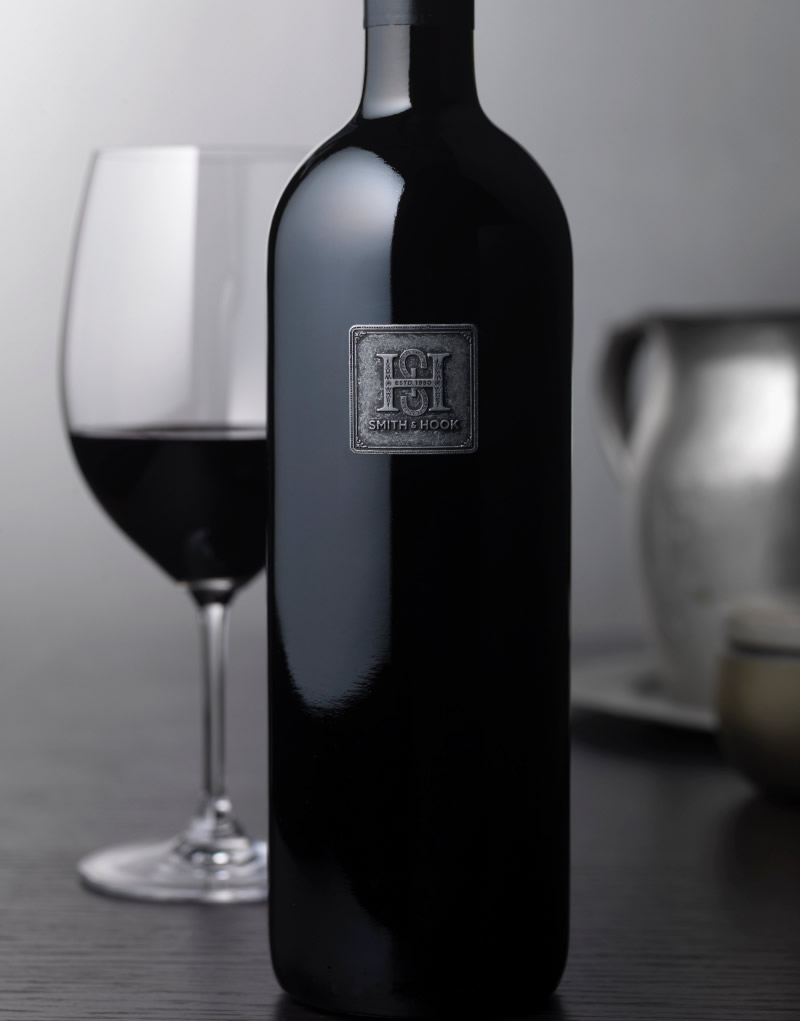 Smith & Hook Wine Packaging Design & Logo Vineyard Designate