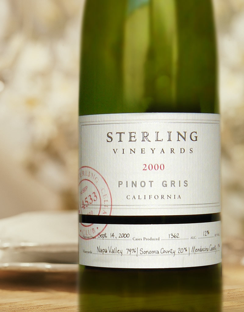 Sterling Vineyards Wine Packaging Design & Logo Cellar Club