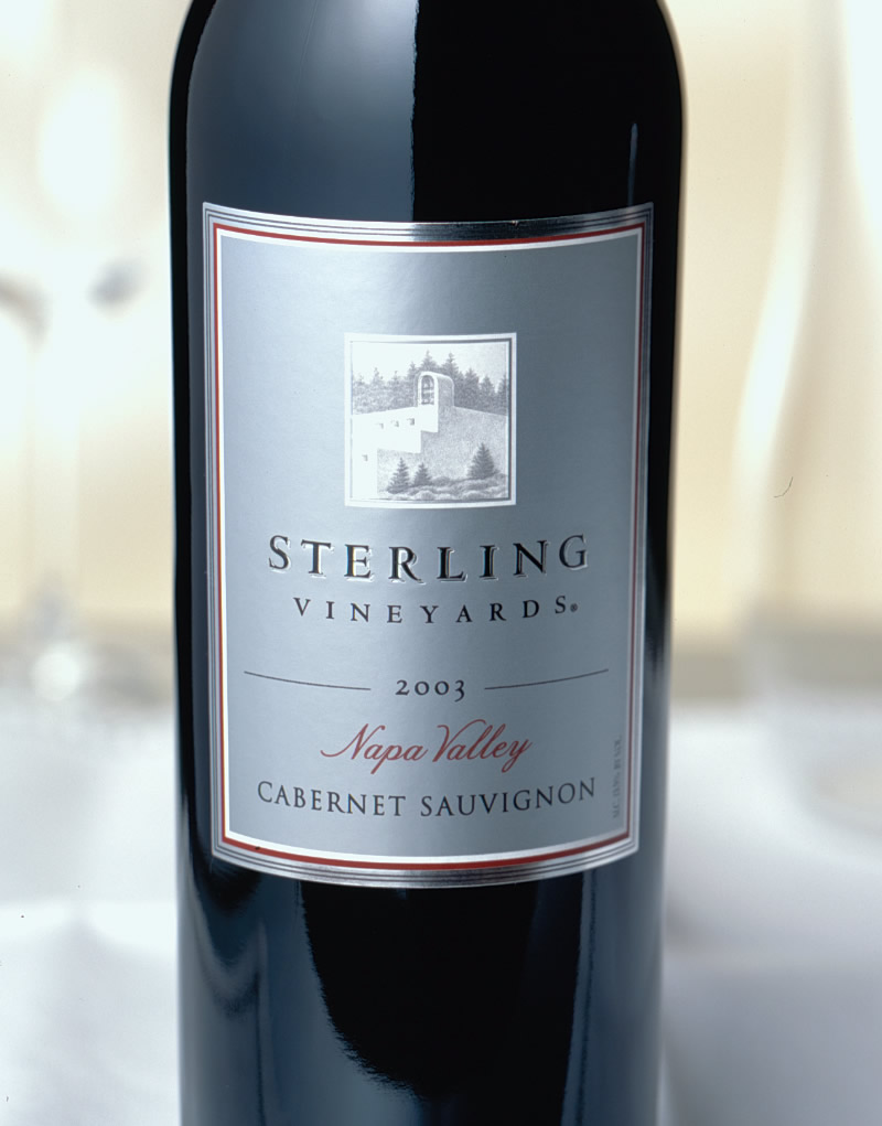 Sterling Vineyards Wine Packaging Design & Logo