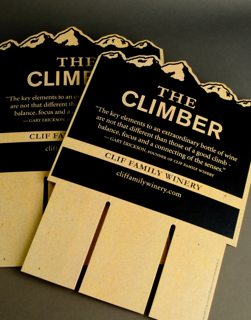 The Climber Case Card Design