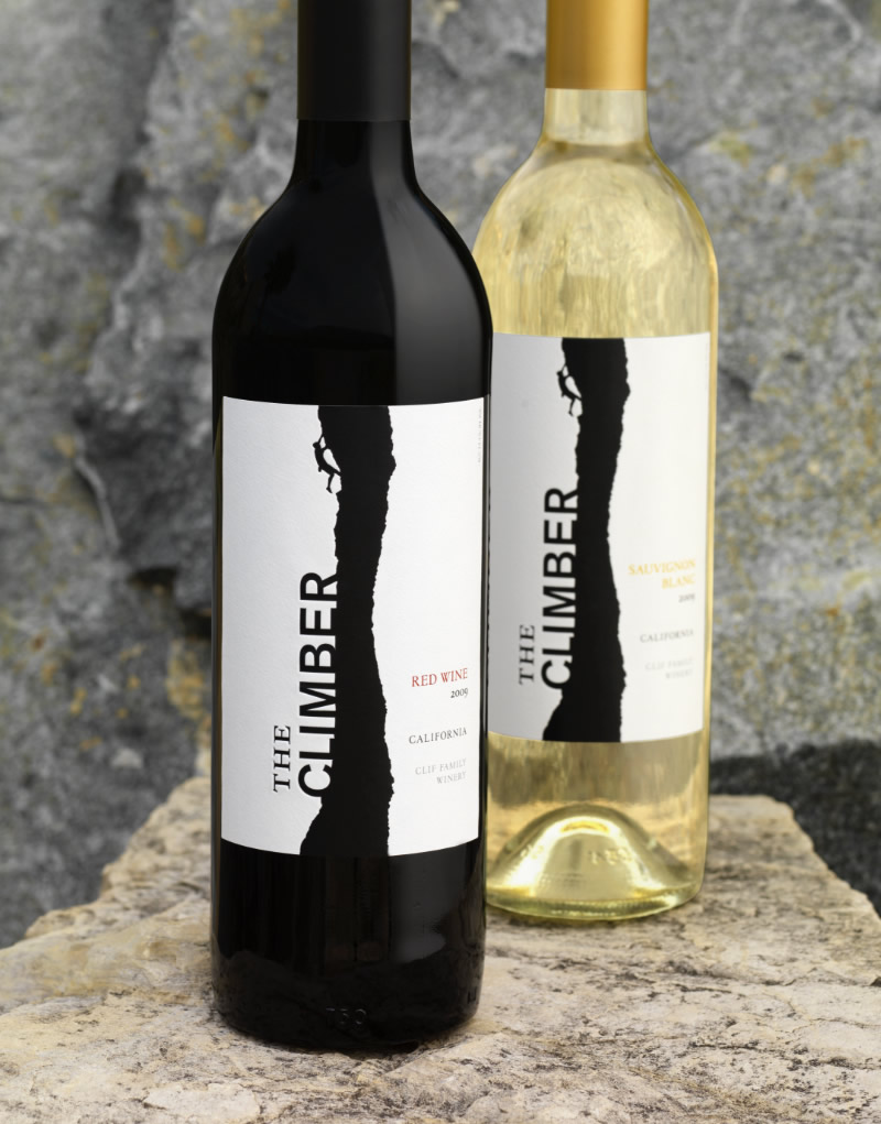 The Climber Wine Packaging Design & Logo
