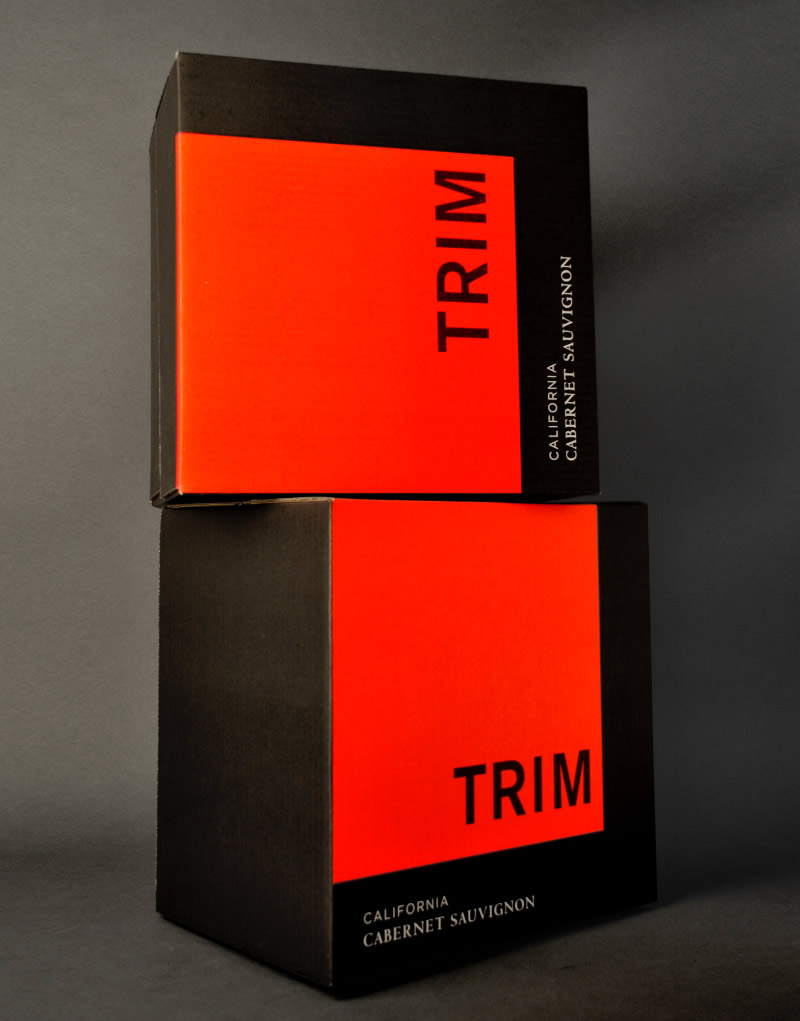 Trim Wines Shipper Design
