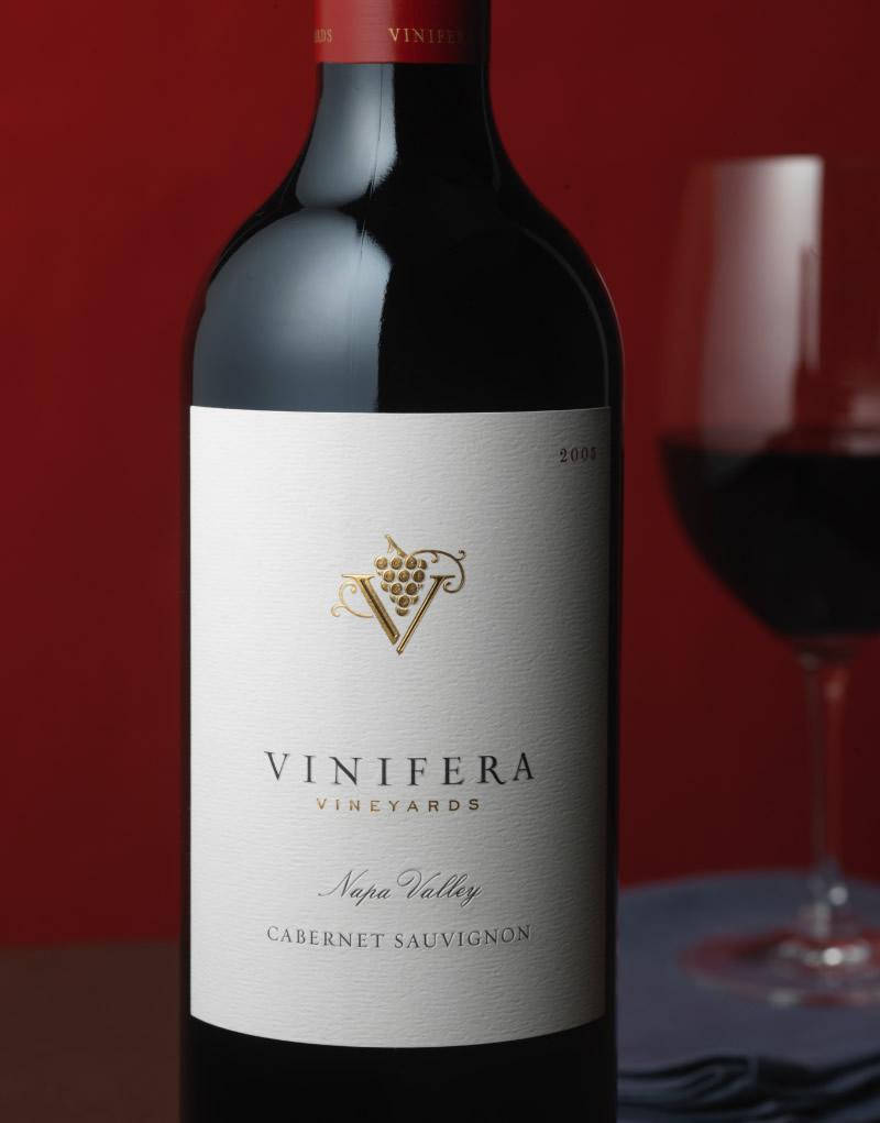 Vinifera Wine Packaging Design & Logo